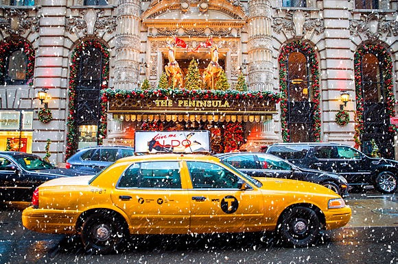 Christmas in London and New York