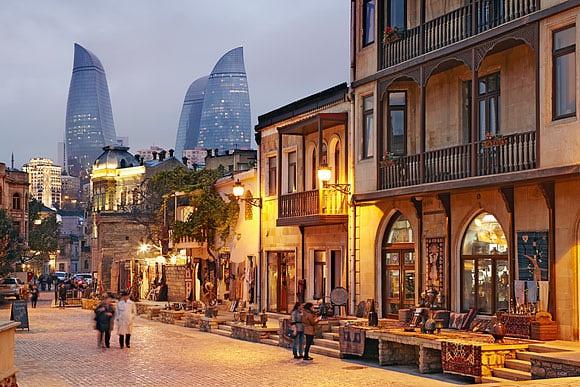 Baku, Azerbaijan by Richard Taylor