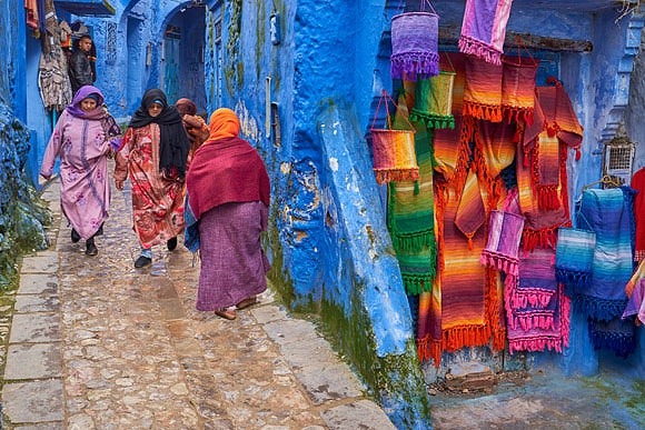 New Images > Morocco An enchanted journey between the dunes, fortified citadels and markets that make Morocco