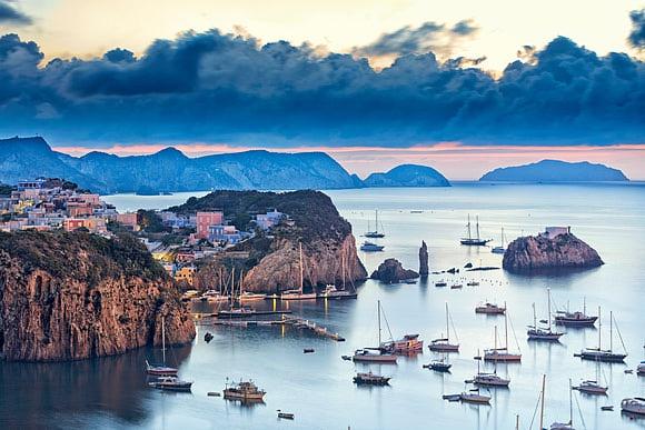Pontine Islands A volcanic archipelago in the Tyrrhenian Sea