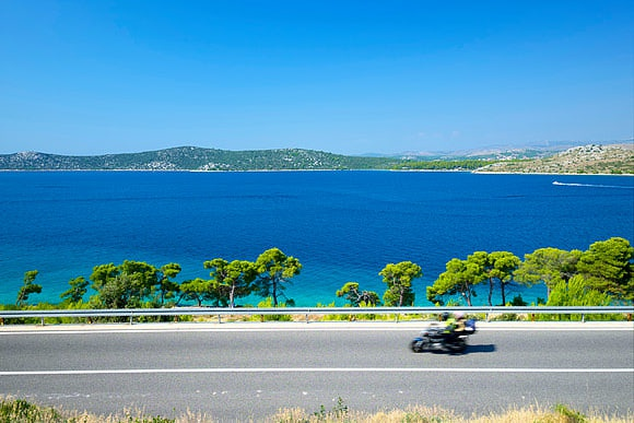 Das kroatische Meer