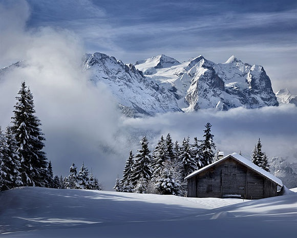 Switzerland Waiting for the winter