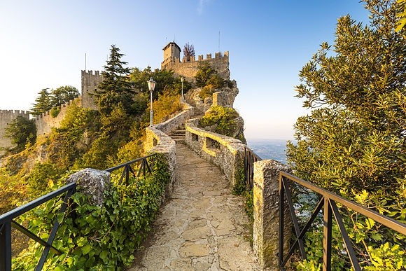 San Marino The smallest state in Europe
