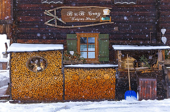 Snow at Sappada Winter in the Venetian Dolomites