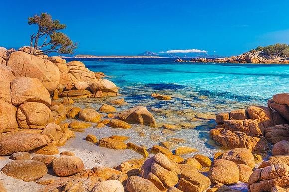 Irresistible Sardinia Costa Smeralda, the Maddalena Archipelago National Park, Capo Testa, ... photographed by Olimpio Fantuz