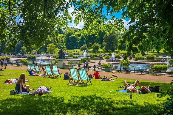 Summer in London Stock Images