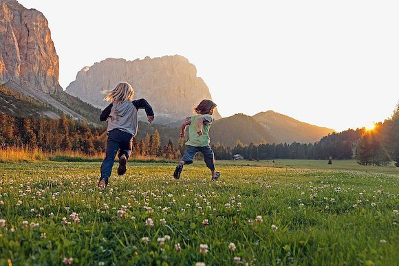 Summer in South Tyrol Stock images